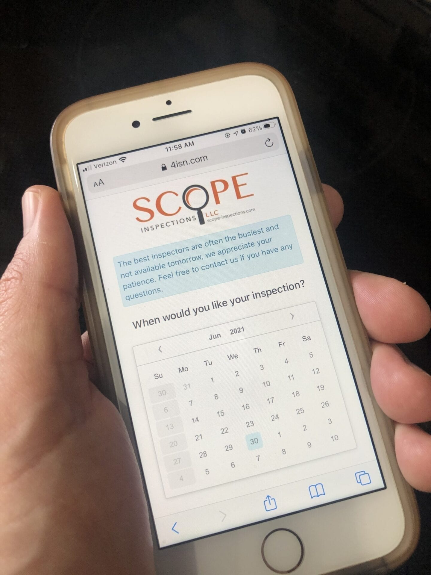 Simple online scheduler